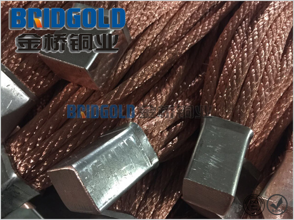 Copper Grounding Strap 100mm2-500mm2