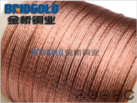 Bare Copper Wire Braid 0.127mm (AWG 36)